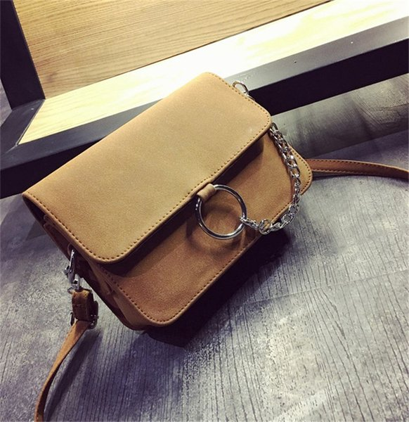 Designer Luxury Handbags Purses Single Shoulders Oblique Wrap Round Wrap Grinding Small Square Bags New Arrival Fashion Style 4 Colors Chain