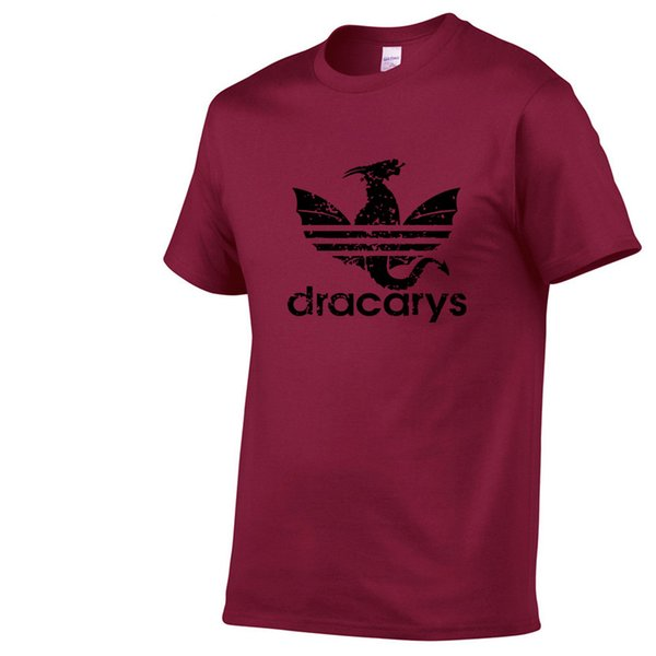 Dracarys T Shirt For Men Game T-Shirts Summer Mother Of Dragon Harajuku Camisetas Top Tees Vogue Aesthetic Clothing XS-XXL