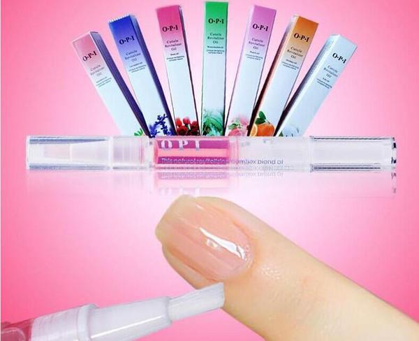 EPACK Aceite de nutrición de uñas Pluma Uñas Tratamiento Cutícula Revitalizador Aceite Prevenir Agnail Manicure Care Nail Art Herramientas de tratamiento