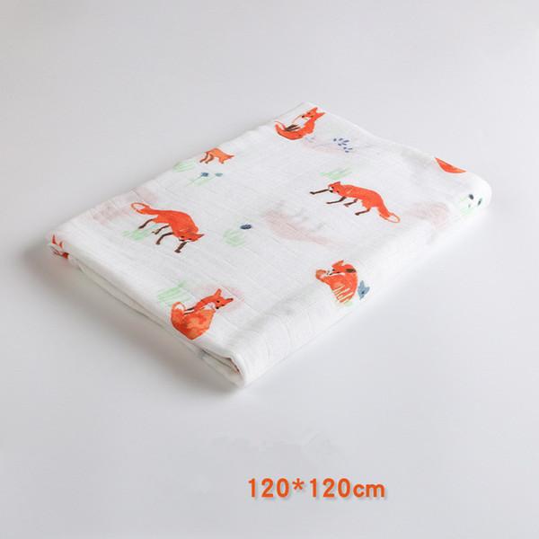 Gedruckt Deer Kinder Twill Baumwollgewebe, Patchwork Tuch, DIY Nähen Quilten Fat Quarters Material Für BabyChild Muslin Decken