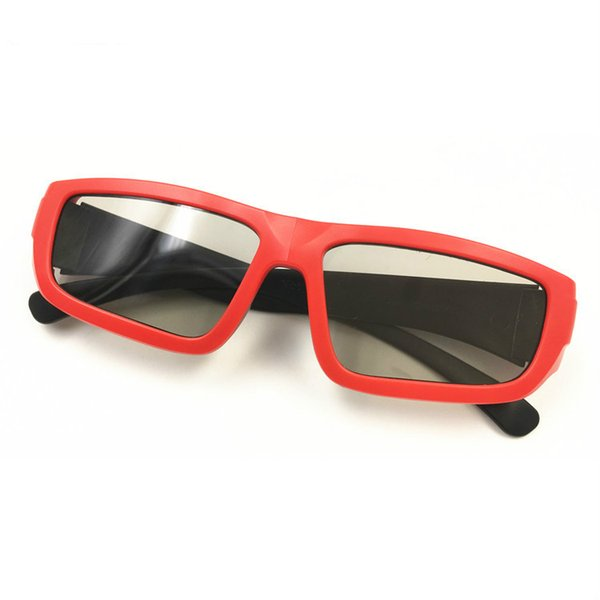 Gafas 3D para cine Pasivo Circular Polarizado Estéreo 3D Gafas para niños Gafas 3D polarizadas Accesorios de moda