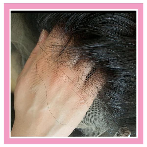 Malaisie HD 13x4 Dentelle Frontal naturel Droit Couleur Remy Cheveux Cheveux Vierge 13 par 4 beauté HD Top Closures