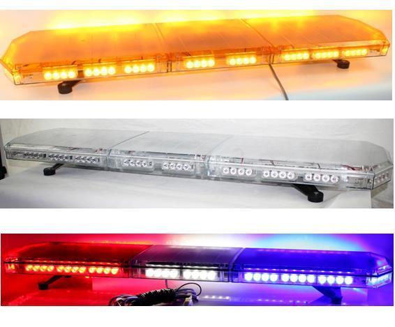 Freies verschiffen 120 cm / 47 zoll led lichtbalken led lichtleiste auto blitz blitzlicht bar ambulance lightbar emergecy warnlichtbalken bernstein anhänger