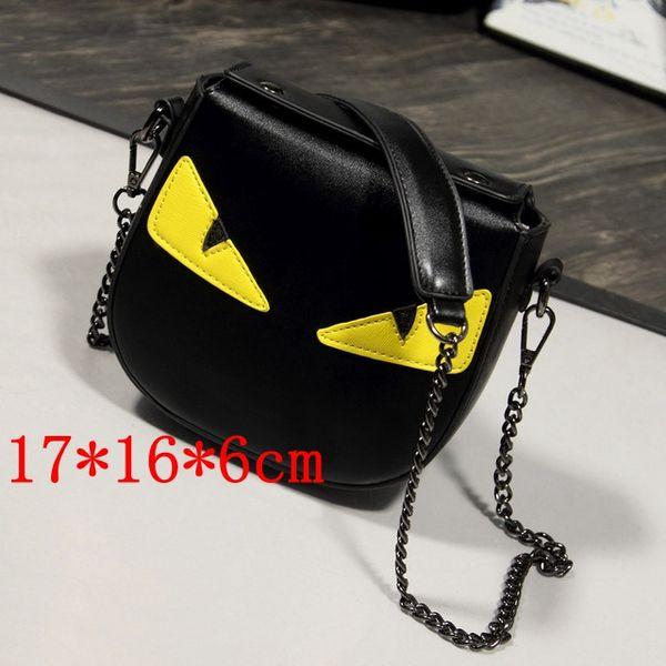 2019 marka moda lüks tasarımcı çanta çanta Göz dekorasyon zinciri küçük kare çanta tasarımcısı crossbody çanta omuz çantası