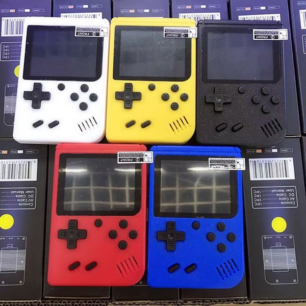 top popular Portable Game Consoles R e tro Mini Handheld 8 bit Color LCD Game Player For 2020