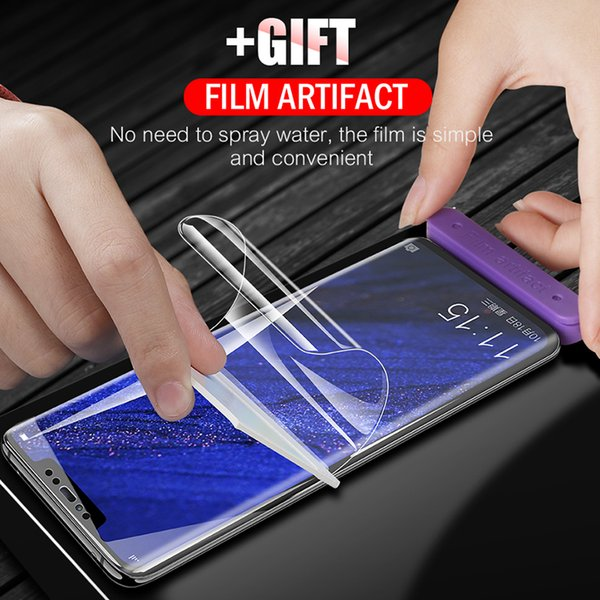 ZNP 4D Soft Full Cover Screen Protector For Huawei Mate 20 10 P20 Lite Protective Hydrogel Film For Huawei Mate 20 10 P20 Pro
