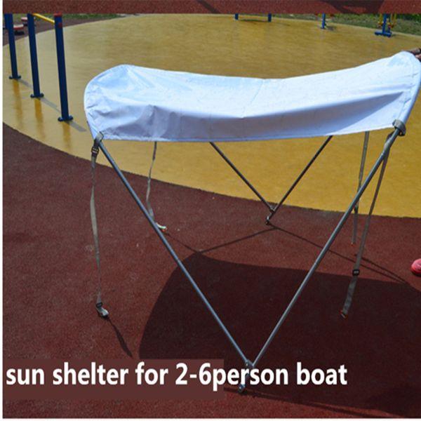 2-6Personen Sonnenschutz für Fischboot wasserdichtes Tuch Sonnenschutz Bootszelt Sonnenschutz