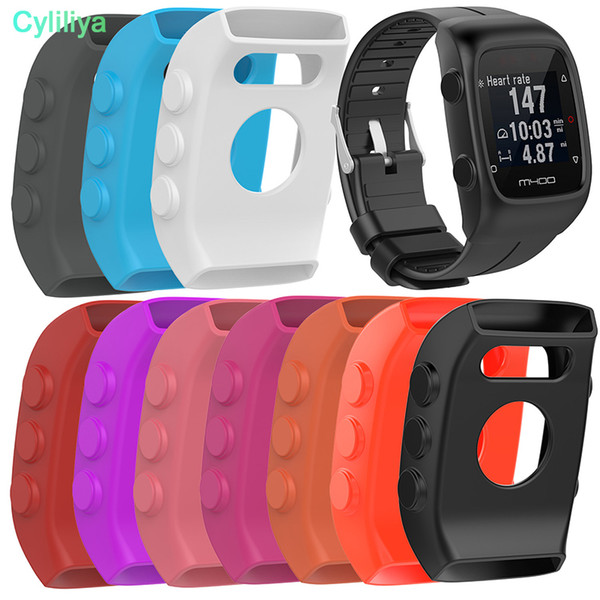 NEW Smart Watch Soft Silicone Case for POLAR M400 Universal Durable Protective Shell Perfect for POLAR M400 M430 Wristband