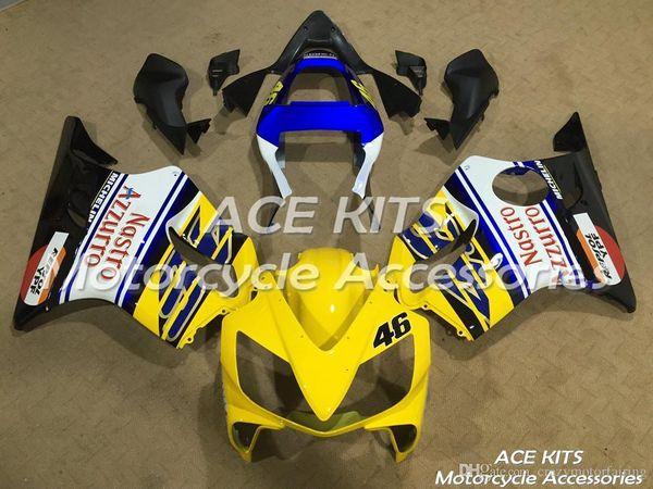 Kits ACE carenagem Da Motocicleta Para HONDA CBR600F F4i 2001-2003 Injeção ou Compressão Bodywork Todos os tipos de cor NO.3333