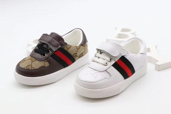 2020 Nuevo de alta calidad zapatos de la marca Kid manera de la tapa material suave y cómodo populares del envío libre 120651