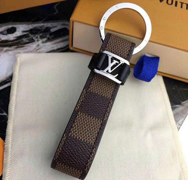 Designer Key Buckle Fashion Famous Designer Keychain Luxury Handmade Brand Car Keychain Man Woman Bag Charm Pendant Accessories New Arrive