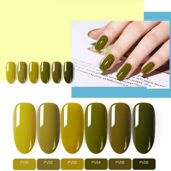 Born Pretty Uv Gel 6ml Olive Green Series Phototherapy Uv Led Soak Off Diy Paint Gel Ink Nail Polishes Lacquer Gel Nail Courses Gel Nail Tips From