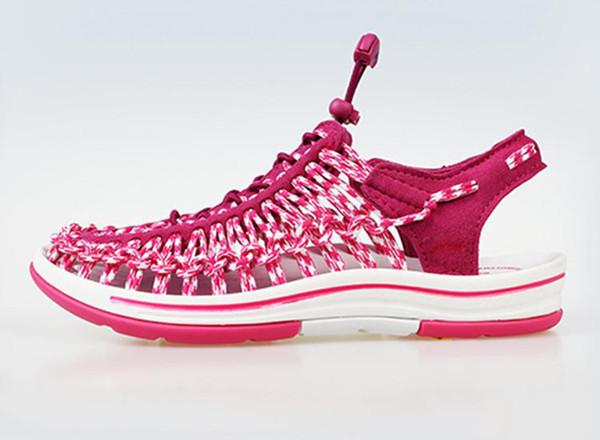 Горячие продажи женщин Мягкие Сандалии Удобные Римские Маленькие белые туфли летние болотные туфли высокого качества дизайнер дышащий вверх по течению обувь 6fgd