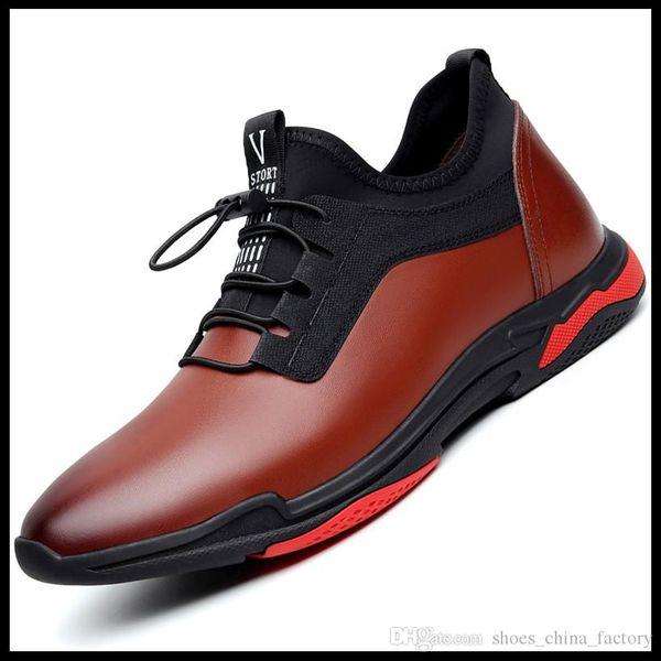Size7916 2019 Yeni Gelenler Erkek Moda Platformu Ayakkabı Düz Rahat Bayan Yürüyüş Rahat Ayakkabılar Aydınlık Floresan Beyaz Ayakkabı Deri Satışı