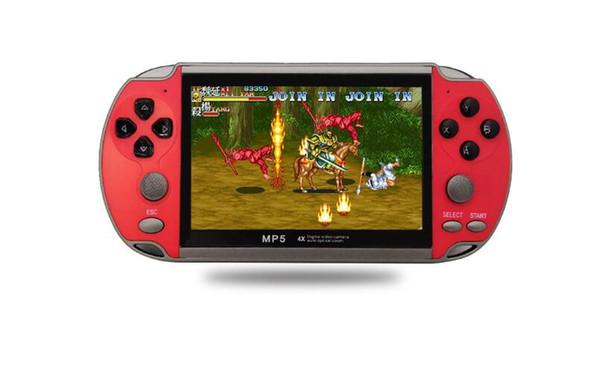 GBA NES Oyun güzel hediye için 8GB X7 PLUS Taşınabilir Oyun Oyuncu 4,3 inç Oyun Konsolu TV Çıkışı TF video