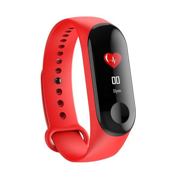 ZZYD Fitness Tracker Smart Armband M3C Activity Tracker Band Sport Armbanduhr IP68 wasserdicht mit Pulsmesser Schlaf Monit