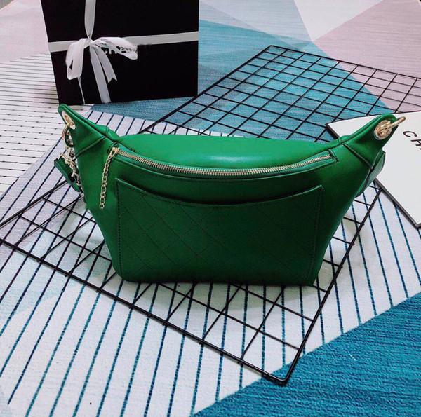 New dumplings zipper chest bag European and American diamond lattice Messenger bag women men pocket dumplings bag cross body bags