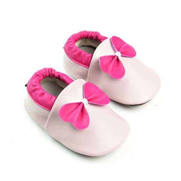 Bebek Yumuşak Kösele Ayakkabı Yenidoğan Kız Bebek Beşik Moccasin Prewalker 0-24M