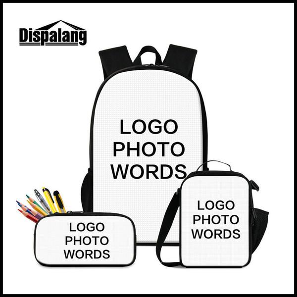 3 PCS (Backpack+Penbox+Lunch Bag)