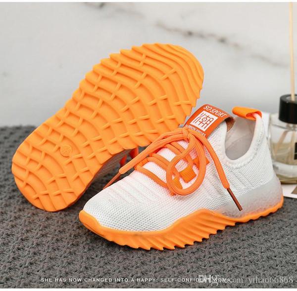 Горячие Продажа Brand Дети Повседневный Спорт Детская обувь для мальчиков и девочек кроссовки Детские кроссовки для детей