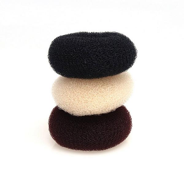 7cm 9cm Sponge Braider Ladies Girls Magic Shaper Donut Hair Bun Ring Maker Fashion Hair Accessories