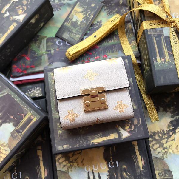 Lüks MB cüzdan Sıcak Deri Erkek Cüzdan Kısa cüzdan MT çanta kart sahibinin cüzdan High-end hediye kutusu paketi