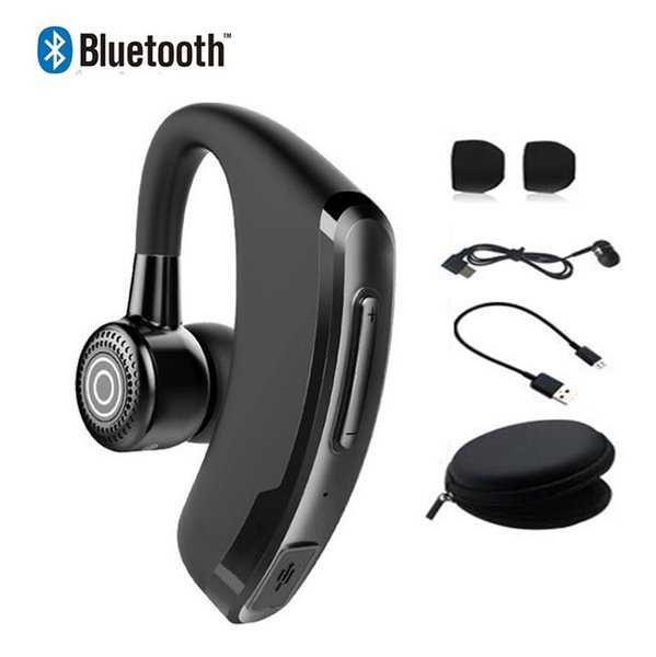 P9 Business Bluetooth Kopfhörer Freisprecheinrichtung Drahtlose Ohrhörer mit Mikrofon Sprachsteuerung Bluetooth Headset