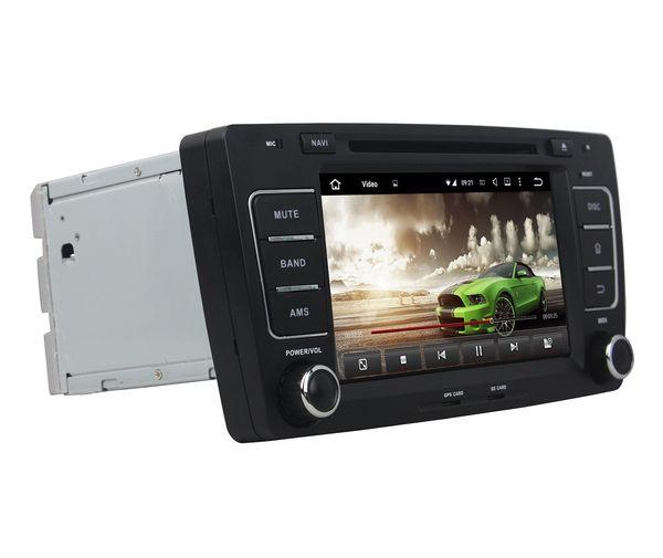 "2 din 8"" Android 8.0 Octa Core Car DVD GPS for Skoda Octavia 2012 2013 Car Radio Bluetooth 4G WIFI USB 4GB RAM 32GB ROM"