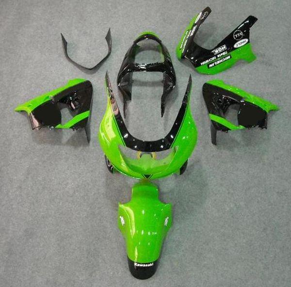 New ABS bike fairings kit Fit for Ninja Kawasaki ZX9R 1998 1999 fairing motorcycle parts ZX-9R 98 ZX 9R 99 Custom style black green