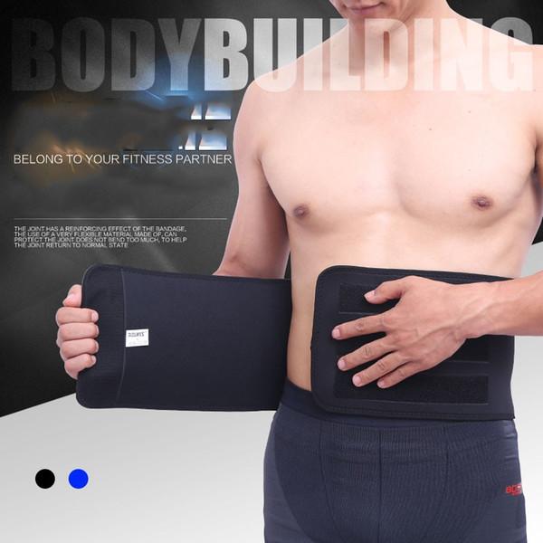 Fitness Sport Exercice Taille Soutien Pression Protecteur Body Building Haltérophilie Ceinture Réglable Ceinture Pour Hommes # 72430