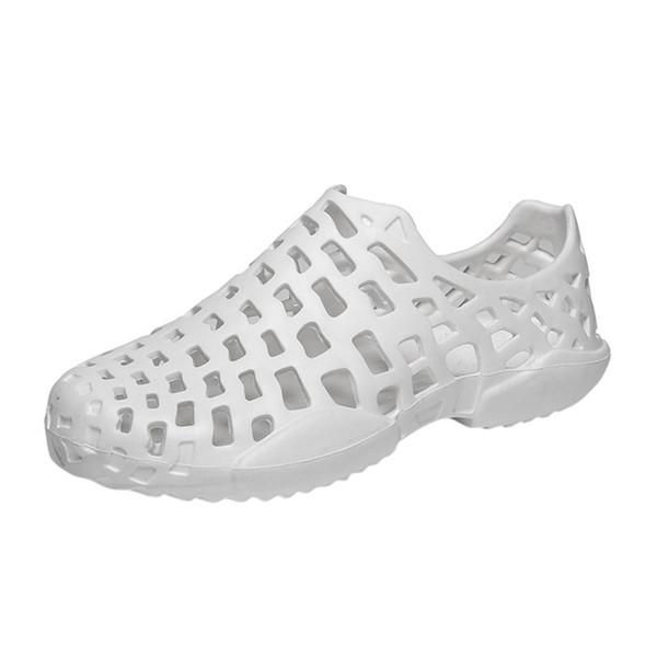 SIKETU Hommes Femmes Unisexe Classique Casual Chaussures Couple Été Plage Sandale Maille Respirant Rembourré Flip Flops Chaussures Pantoufles A30
