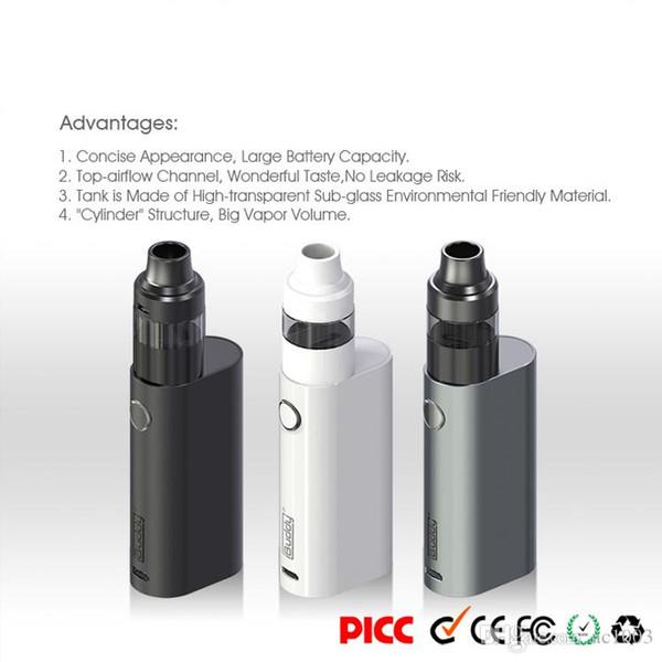 Best Nano-D Vape Box Mod E cigarette kits 2200mah Battery Wax Oil Starter kits 2.0ml 510 Thread Tank Wholesale Free Shipping