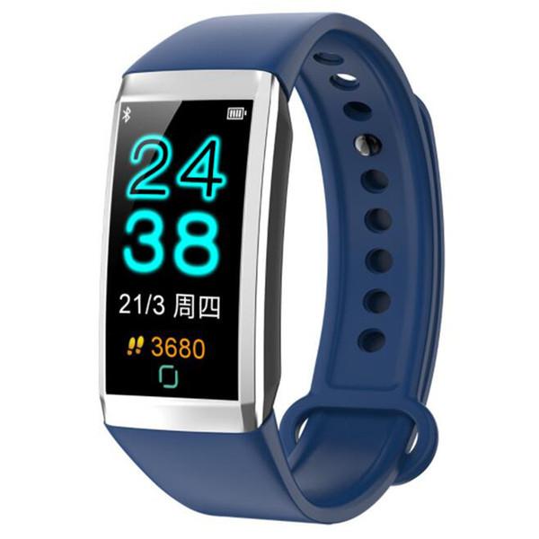 New TD19 smart watch 1.14 color screen heart rate call reminder blood pressure blood oxygen waterproof smart sports bracelet