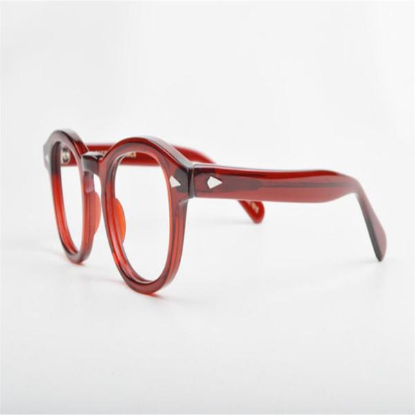 MONGOTEN Brand Design Unisex Acetate Full Rim Optical Eyewear Frame Clear Lens Optical Goggle Anti-fatigue Reading Eyeglasses