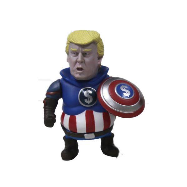 10CM Trump cosplay PVC action figurine nouveauté figurine Avengers collections Drôle poupée jouets envoyer des enfants MMA2189