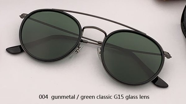 004 gunmetal /G15 glass lens