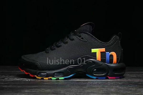 2019 Sıcak Hava Mercurial Artı Tn Ultra SE 13 Renkler Koşu Ayakkabıları Açık TN Ayakkabı Erkek Net Nefes Eğitmenler Spor Sneakers BOYUTU 40-46 A08