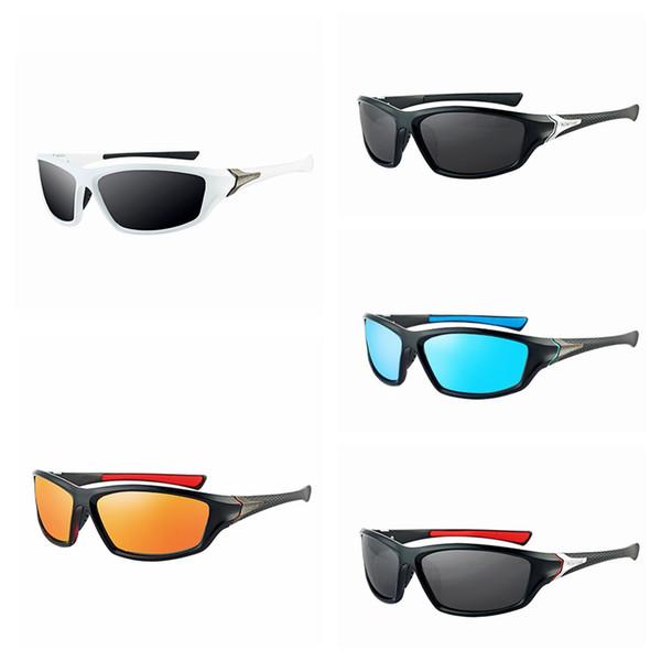 Polarized Full Frame Cycling Sunglasses Fashion Lightweight Men Driving Sport Glasses Outdoor Casual Fishing Climbing Eyewear LJJT1013