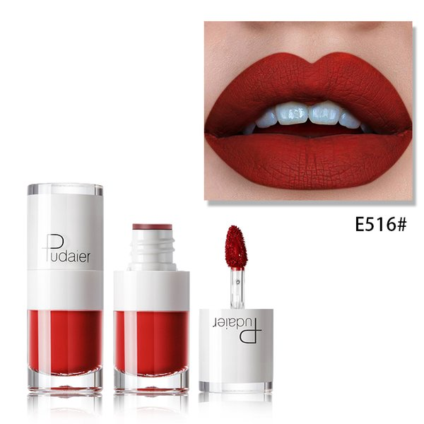 Pudaie Liquid Lipstick 16 Color Mini Candy Color Matte Lip Gloss Long Lasting Moisturizing Waterproof Non-stick Cup Lip Glaze