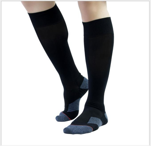 Sports stockings Pure color sweat absorption combed cotton wool ring football socks breathable training socks