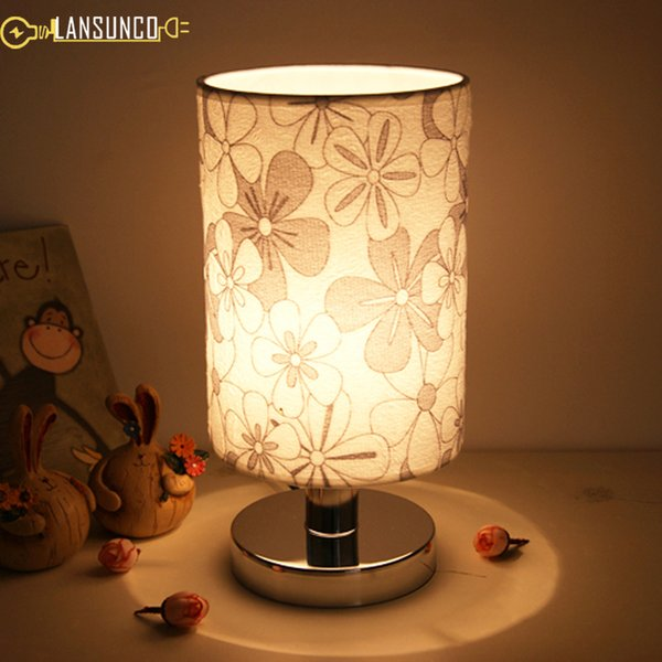 European style Table Lamps PVC Desk Lamp Stainless Steel Tafellamp For Bedside Hotel Decoration Bedroom Lamp Lampara De Mesa