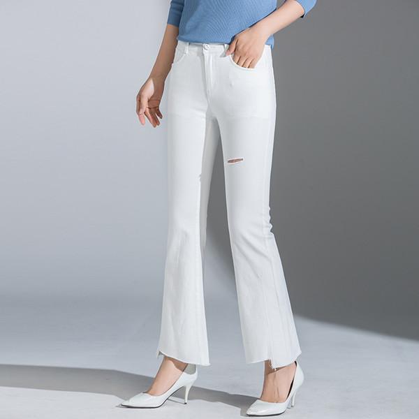 2019 Harem nuovo stile di autunno della disposizione della pelliccia di Caviglia-lunghezza delle donne Weila pantaloni delle donne Produttori bell-bottom a nome di