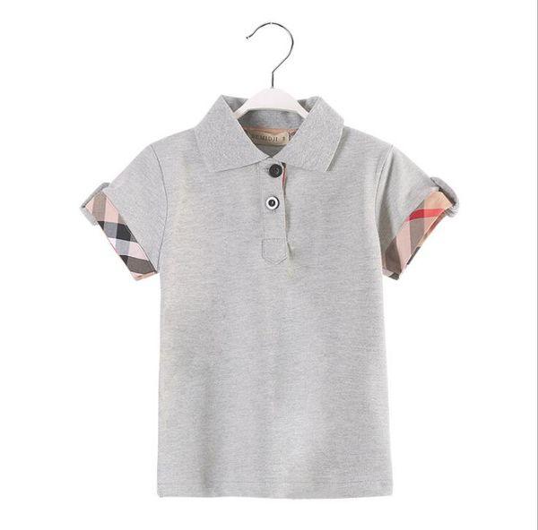 Baby Boys Shirt Short Sleeve Striped T-Shirt Fashion 100% Cotton Tees Various
