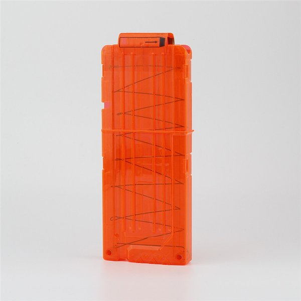 1 pc magazine ammo clip 12 refill dart magazine compatible for nerf n-strike gun foam dart holder rifle gun pistol gun maga thumbnail