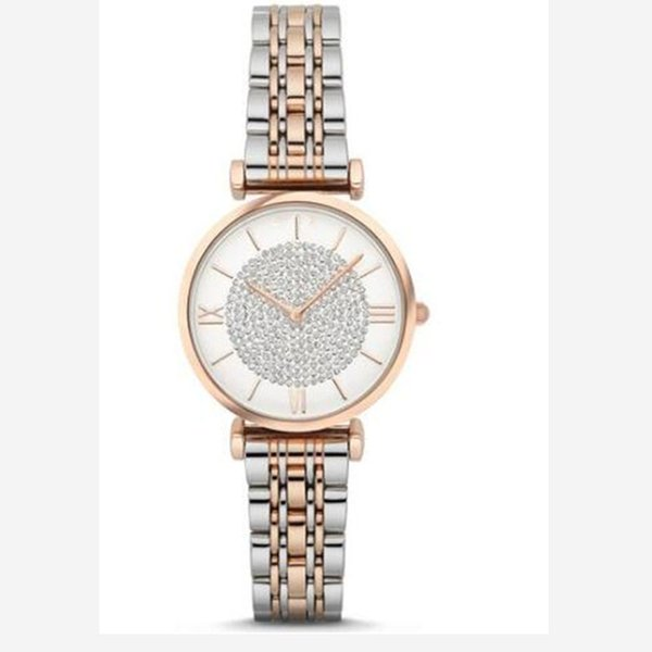 Iced Out Watch Luxury Watches 1925 1926 1908 1909 Watches Full AR Diamond Women Stainless Watches Ladies crystal Wristwatch Valentine's Gift