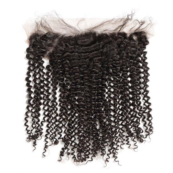 Versaute lockige menschliche Haare
