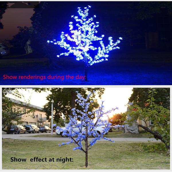 1 5m Cherry Blossom Light Tree Trunk Landscape Warm White Wedding Luminaria Outdoor Lighting Lamp New Year Waterproof Sale Christmas Decorations Sale