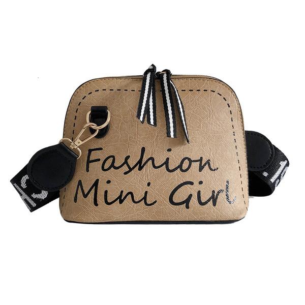 Trendy Shell-Stil Mode koreanischen Frauen Umhängetasche Wild Messenger Bag Kosmetiktasche 2019 Sommer New Style