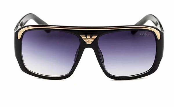 2018 Hot Sale Women Fashion Square Sunglasses Colored transparent Marine lens Sun Glasses Elegant Brand Designer polygon diamond glass men