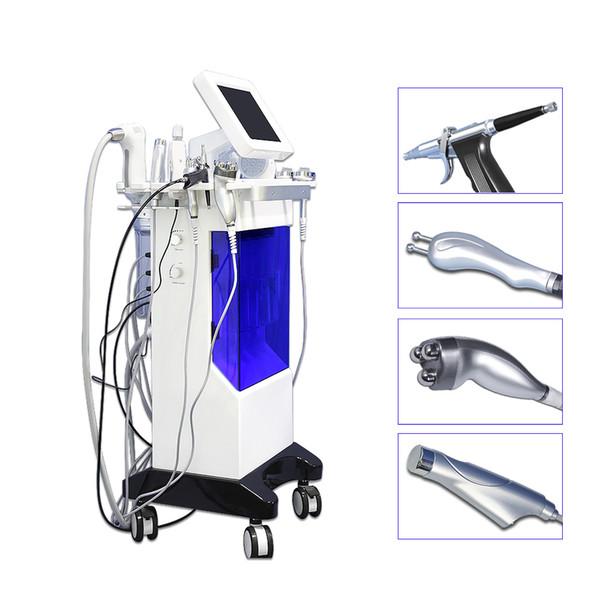 Nova Hidro Dermoabrasão Facial Máquina de jato de oxigênio de Água Peeling Diamante Microdermoabrasão Máquina de Cuidados Faciais Rejuvenescimento Da Pele